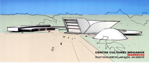 Oscar Niemeyer Centre Culturel Essaouira